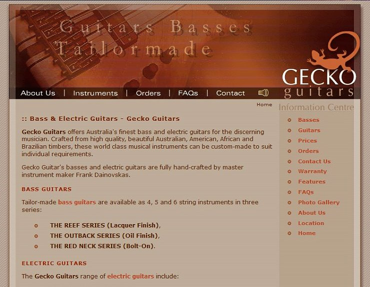 Gecko Guitars