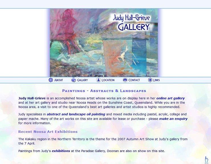 Judy Hall Grieve Artist