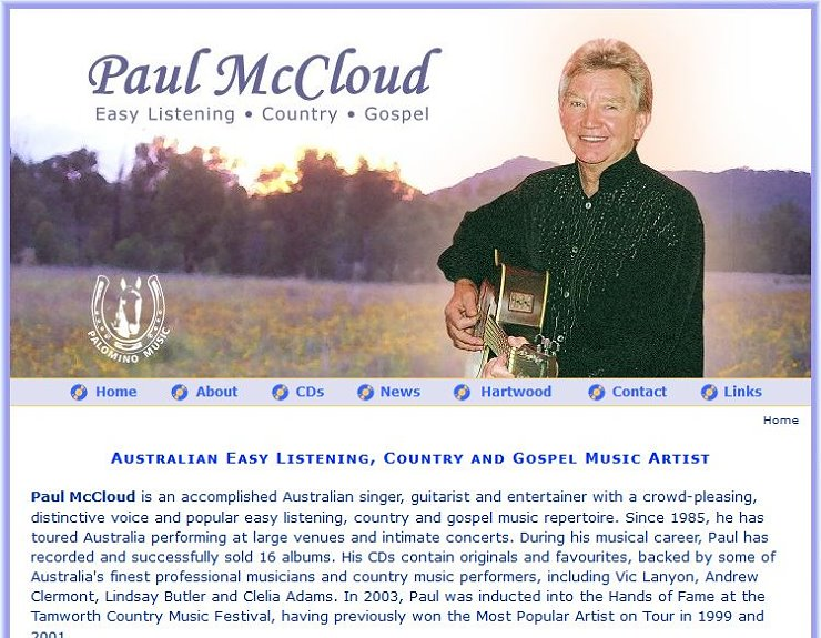 Paul McCloud Musician