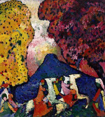 Der Blaue Berg (The Blue Mountain) (1908-09)