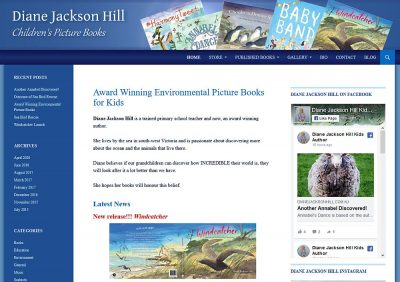 Diane Jackson Hill Children's Author
